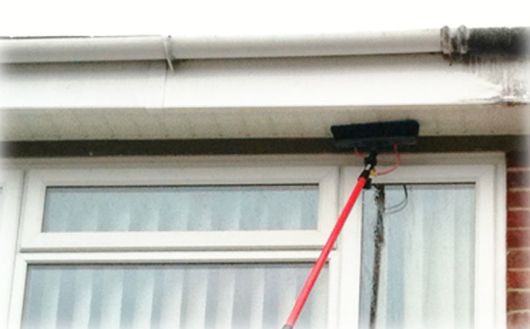 Soffit, fascia and bargeboard cleaning services